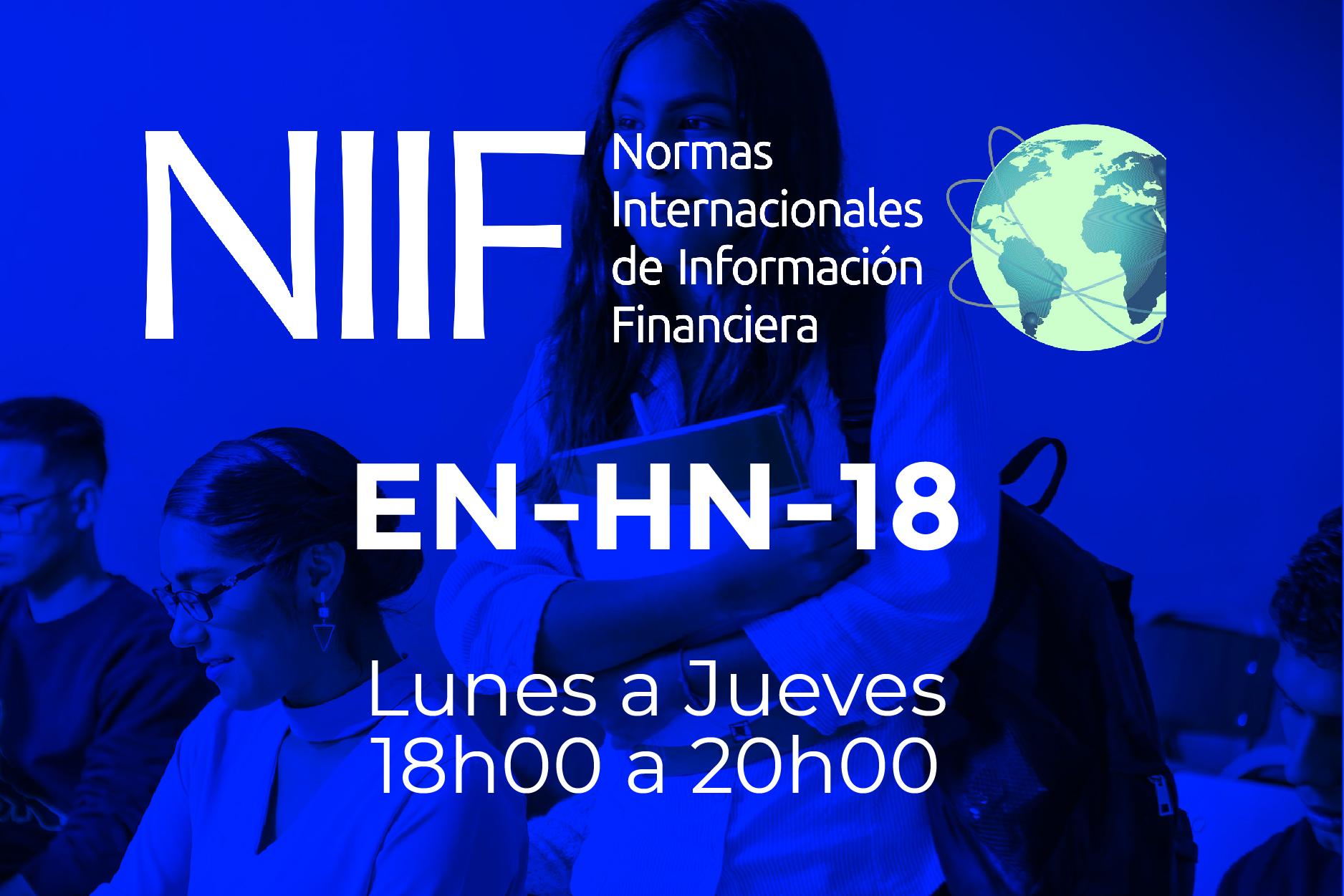 18 - NIIF - LUNES A JUEVES - 18:00 A 20:00