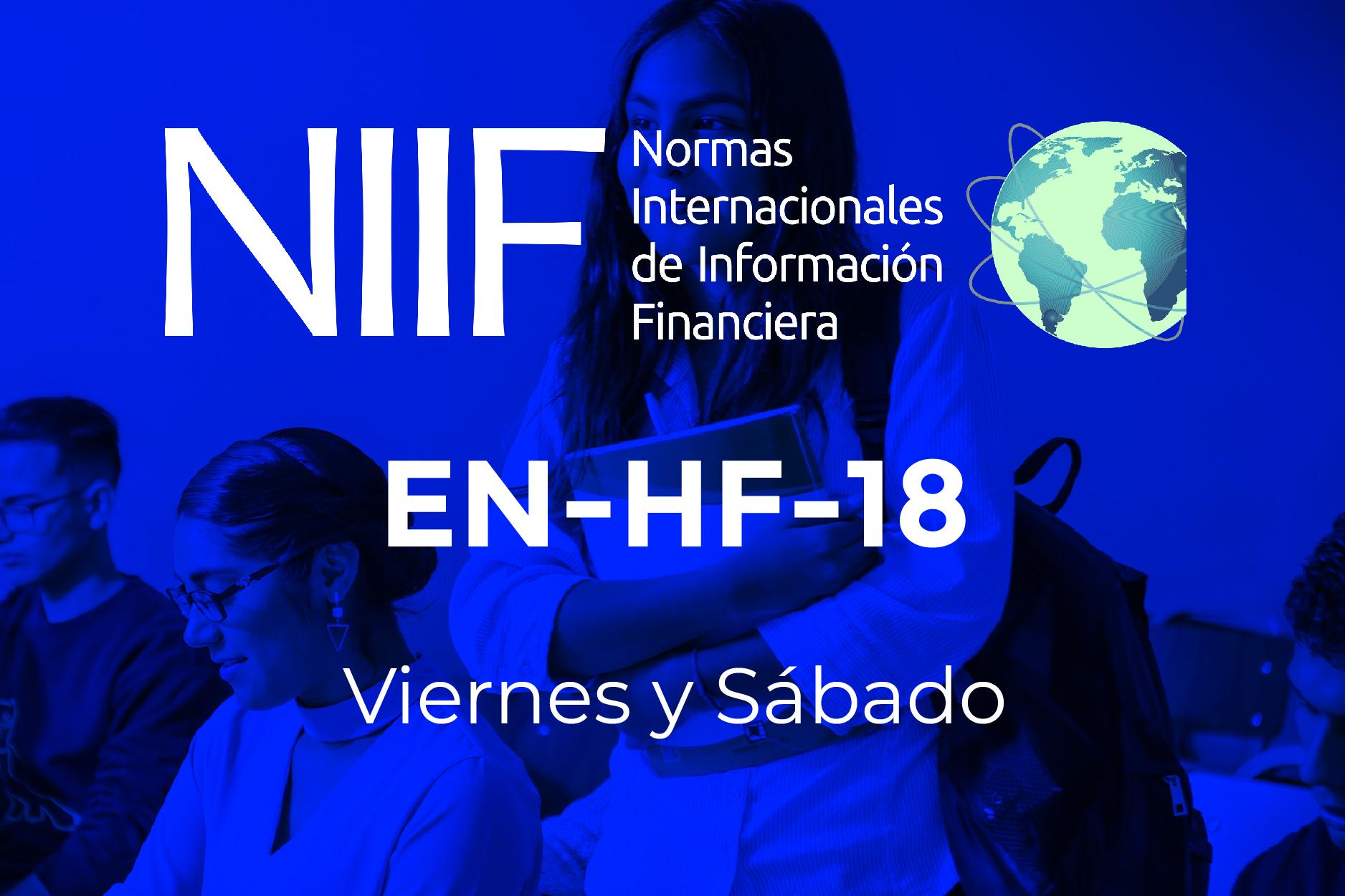 18 - NIIF - VIERNES Y SÁBADO