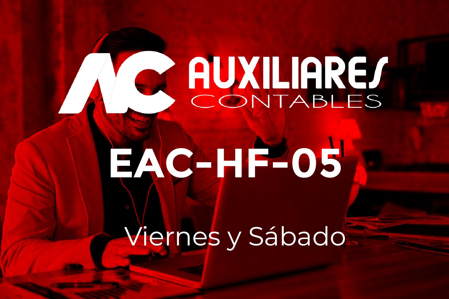 5 - AUXILIARES CONTABLES - VIERNES Y SÁBADO