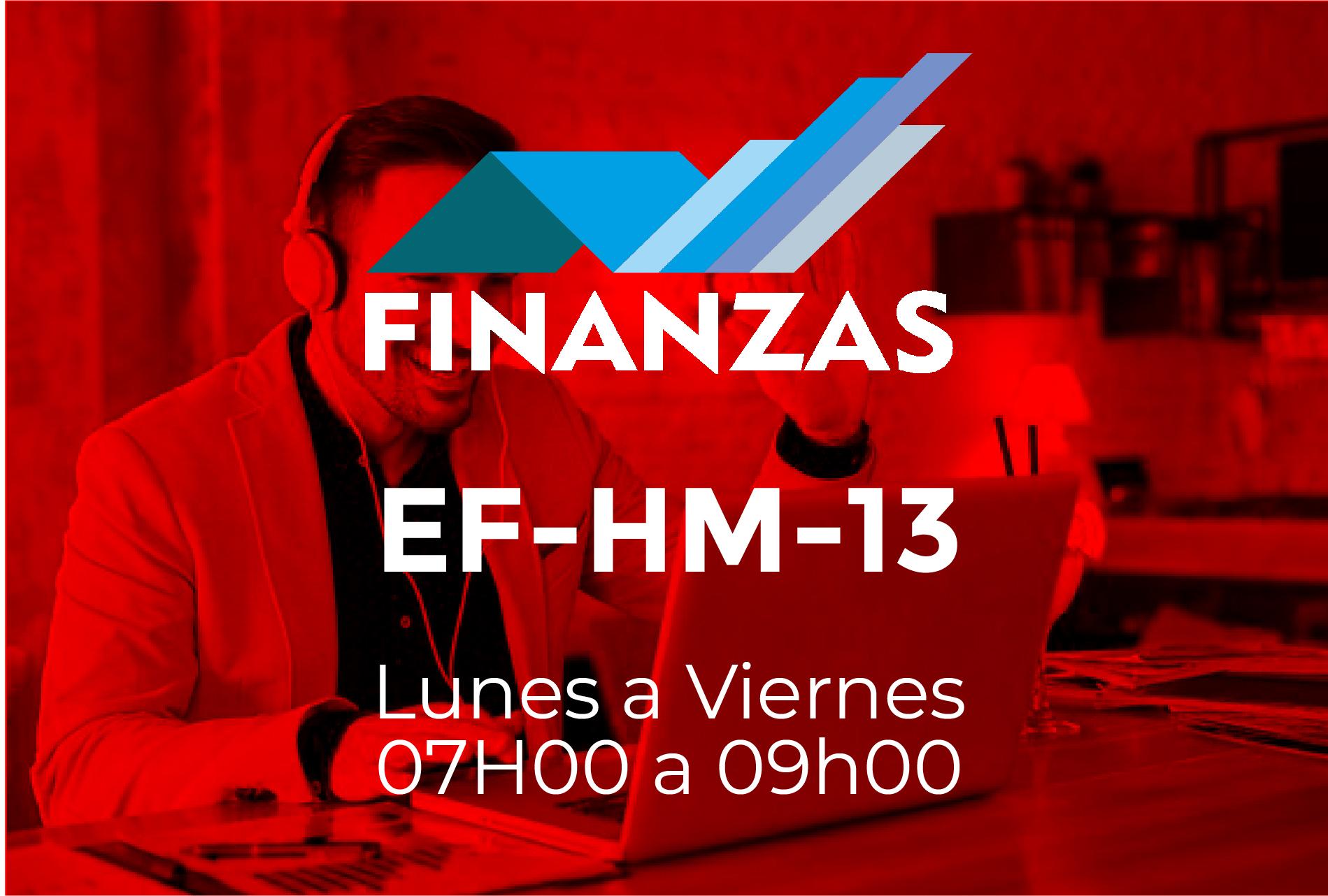 13 - FINANZAS - LUNES A JUEVES - 07:00 A 09:00