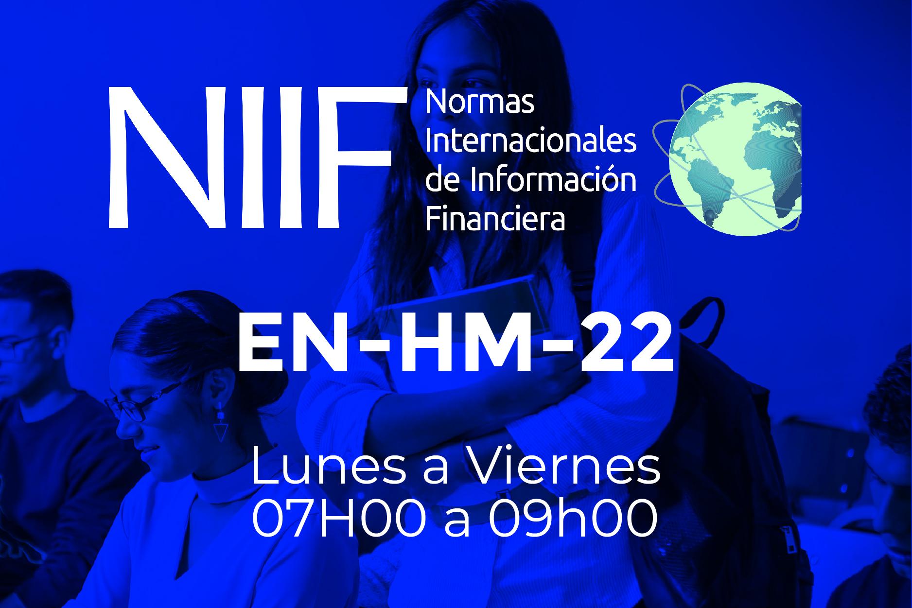 22 - NIIF - LUNES A VIERNES - 07:00 A 09:00