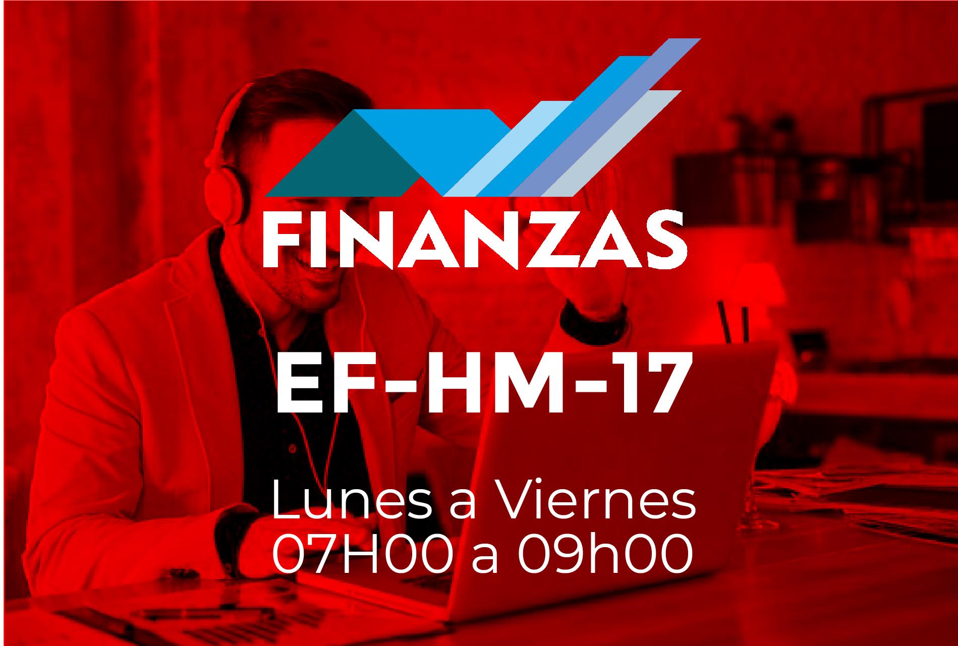 17 - FINANZAS - LUNES A VIERNES - 07:00 A 09:00