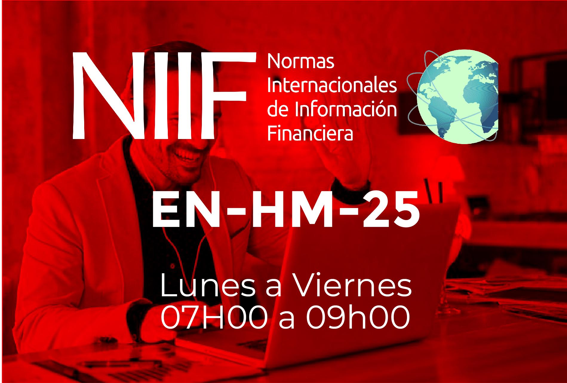 25 - NIIF - LUNES A VIERNES - 07:00 A 09:00