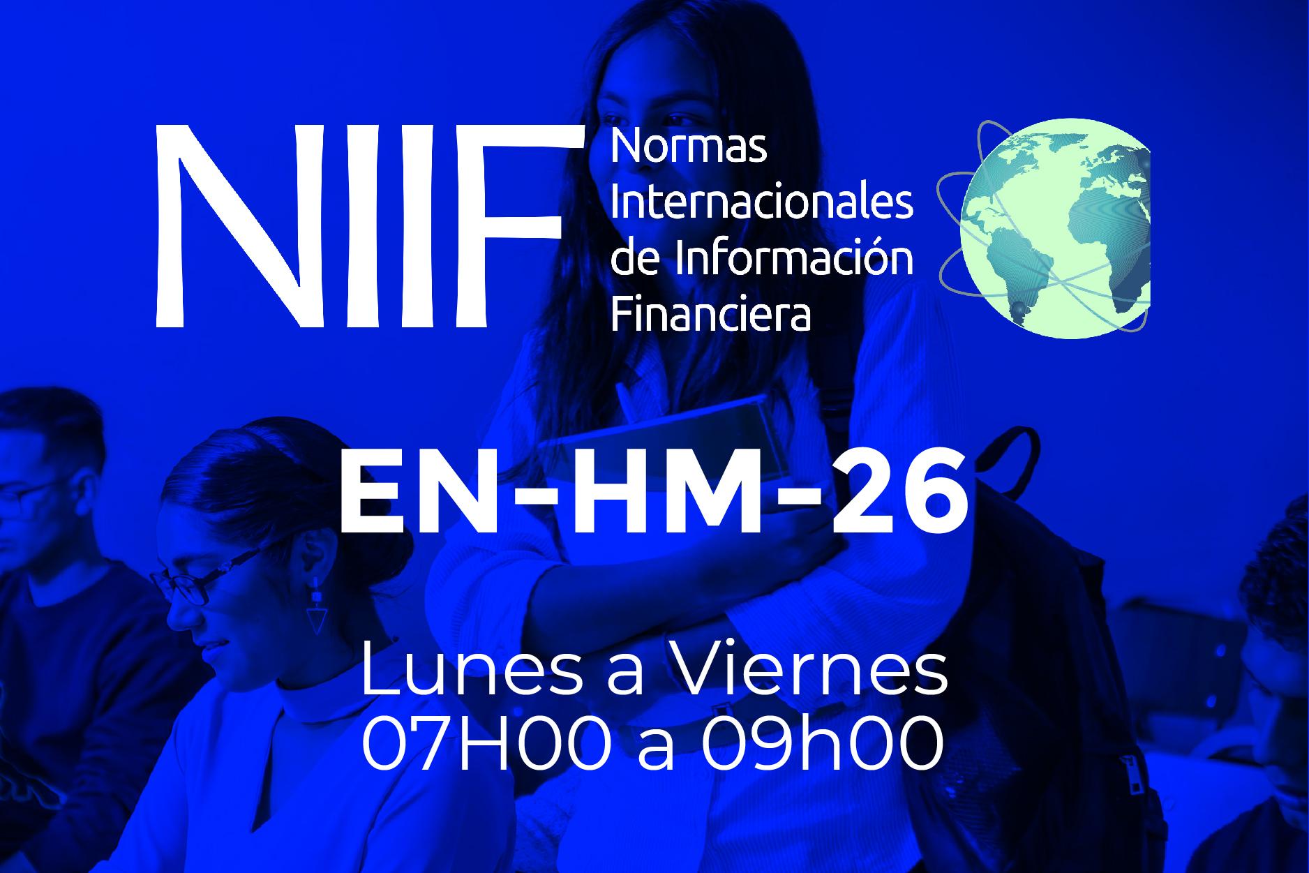 26 - NIIF - LUNES A VIERNES - 07:00 A 09:00