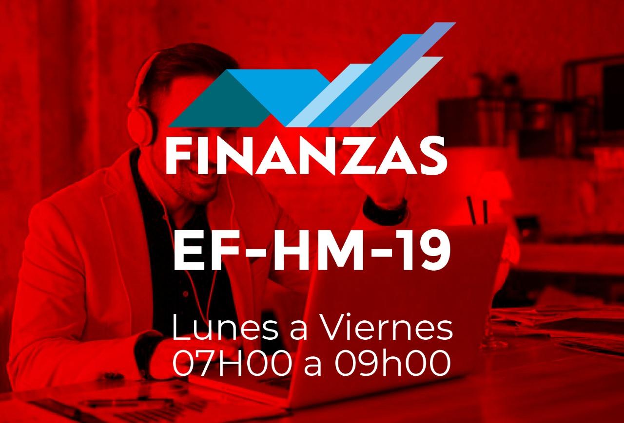 19 - FINANZAS - LUNES A VIERNES - 07:00 A 09:00