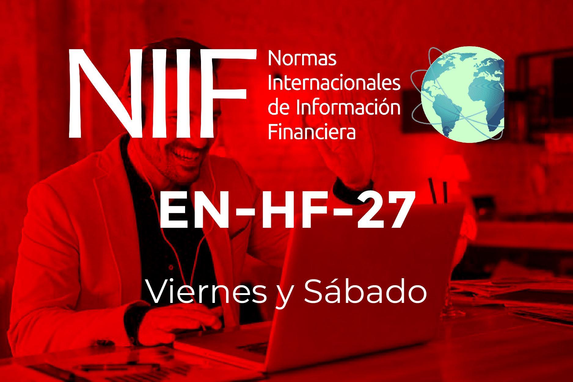 27 - NIIF - VIERNES Y SÁBADO