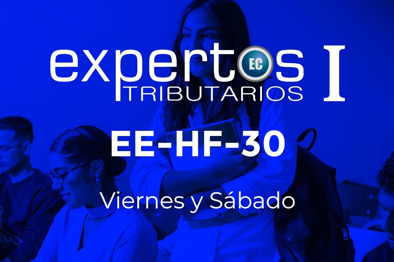 30 - EXPERTOS TRIBUTARIOS - VIERNES Y SÁBADO