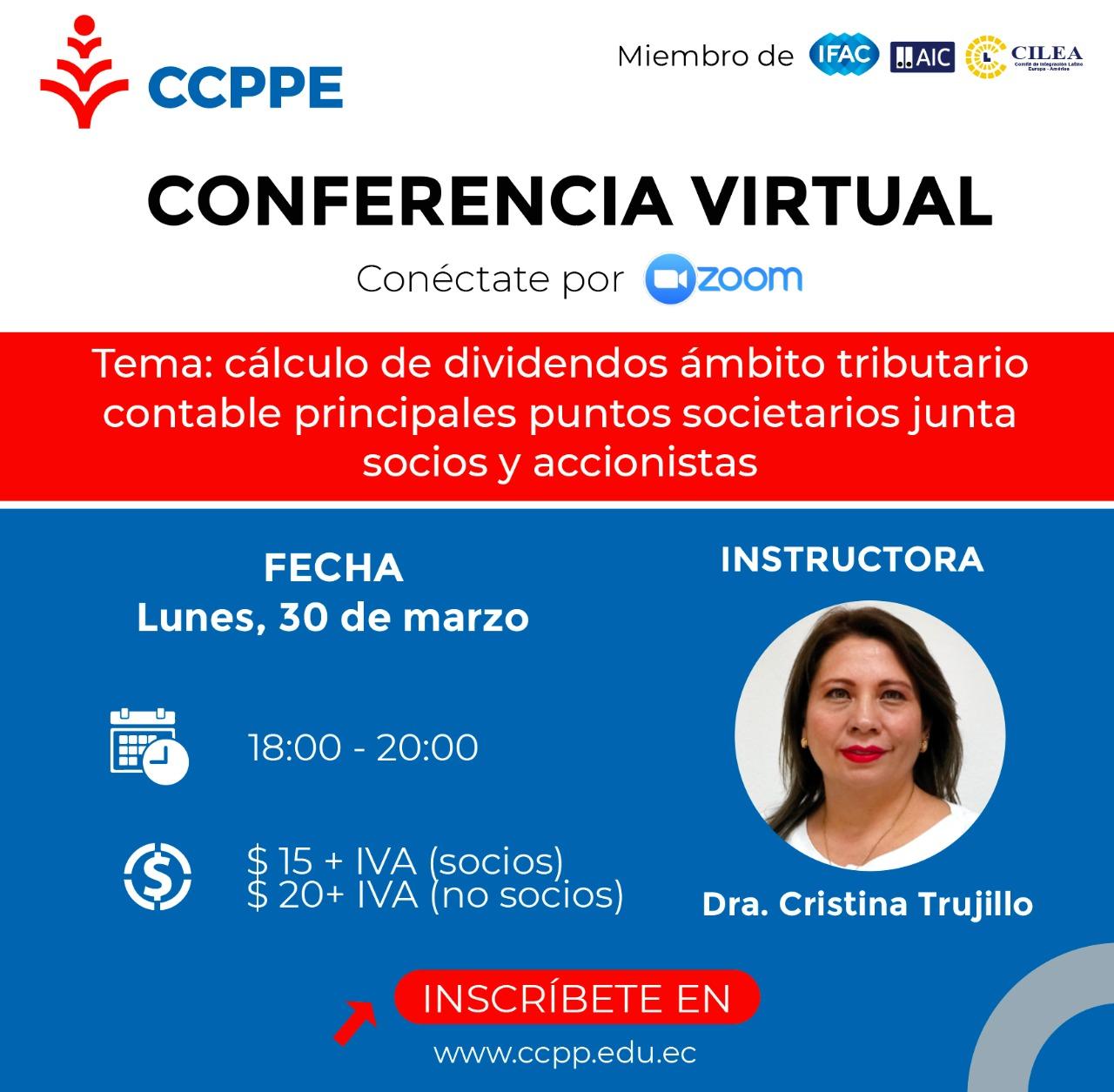 CÁLCULO DE DIVIDENDOS - 30 MARZO 2020