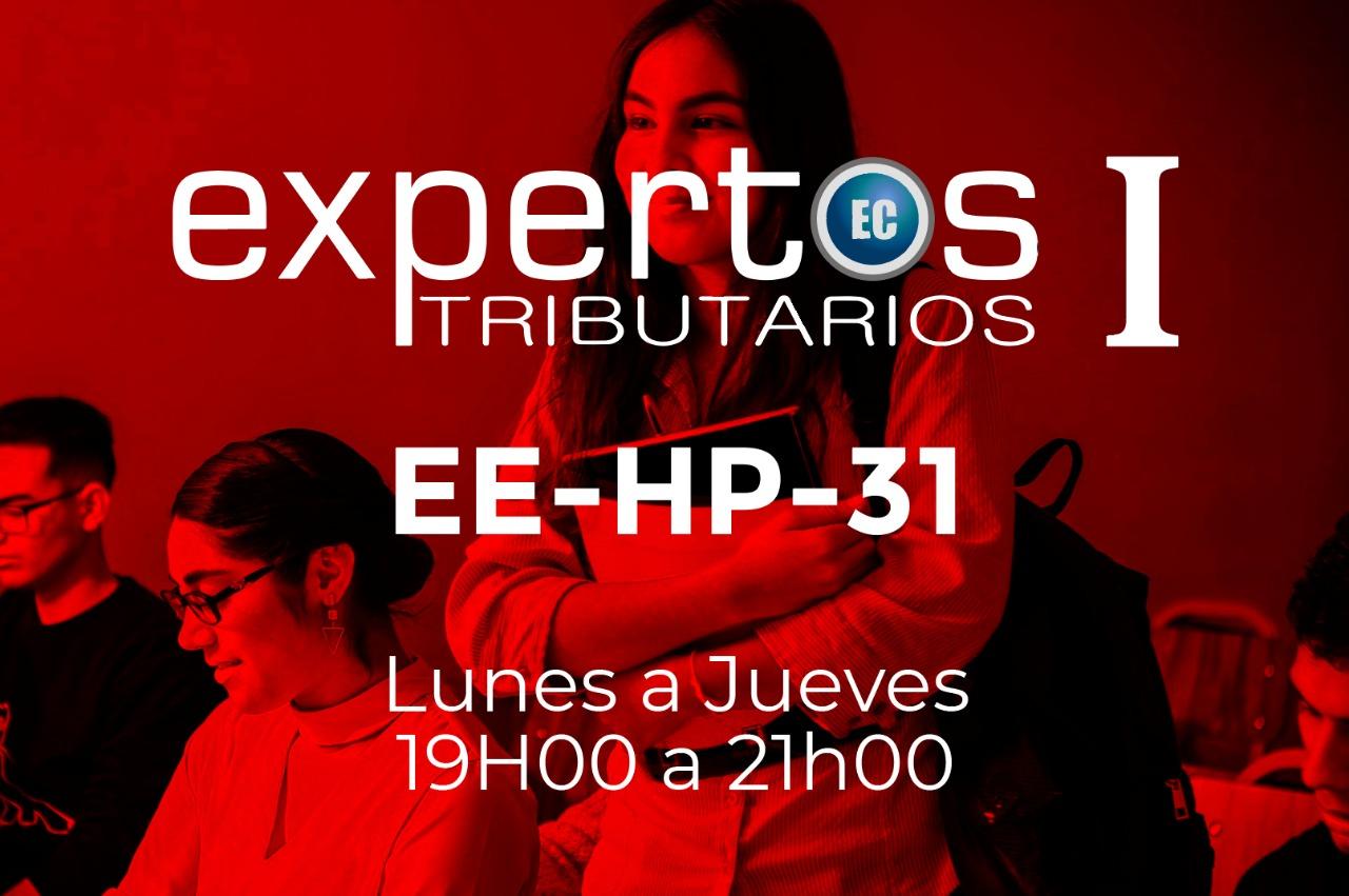 31 - EXPERTOS TRIBUTARIOS - MACHALA