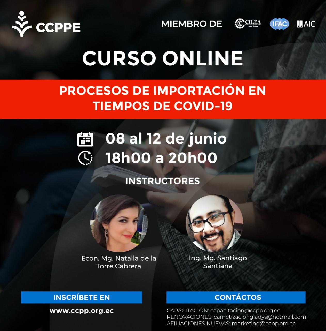 PROCESOS DE IMPORTACIÓN EN TIEMPOS DE COVID-19 - 08 AL 12 JUNIO 2020