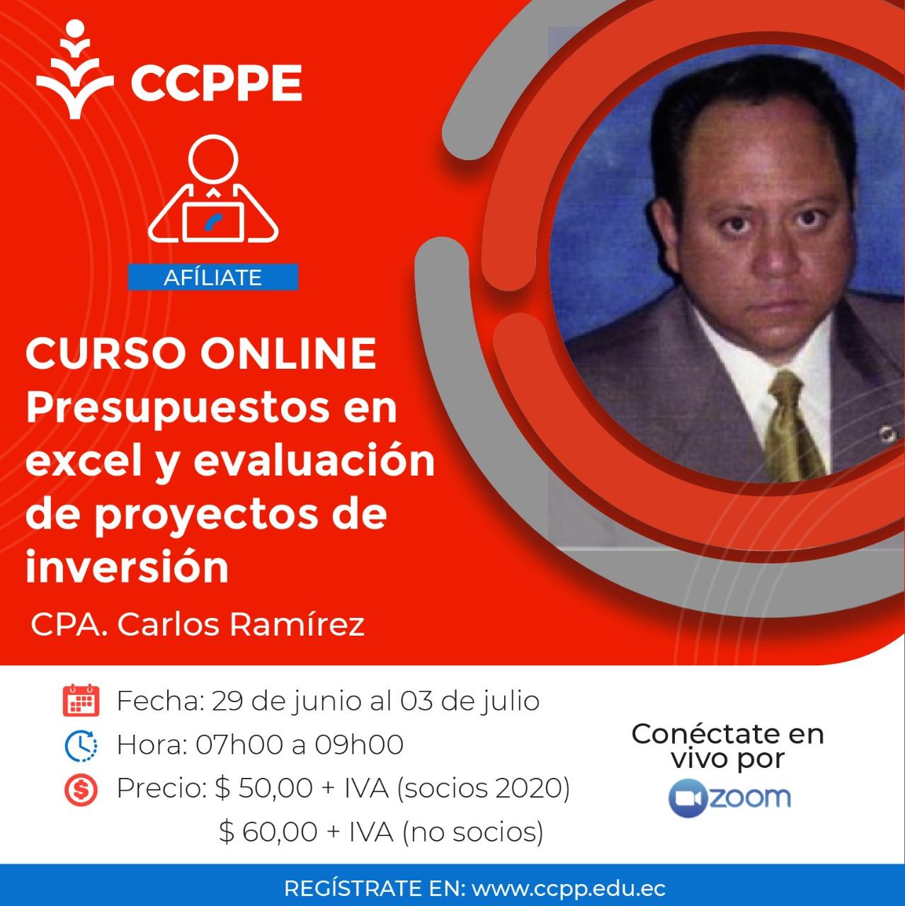 PRESUPUESTOS Y EVALUACIÓN DE PROYECTOS - 29 JUNIO al 03 JULIO 2020