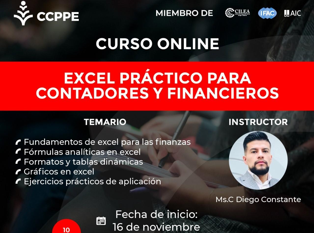 EXCEL PARA CONTADORES Y FINANCIEROS - 16 AL 20 NOVIEMBRE 2020