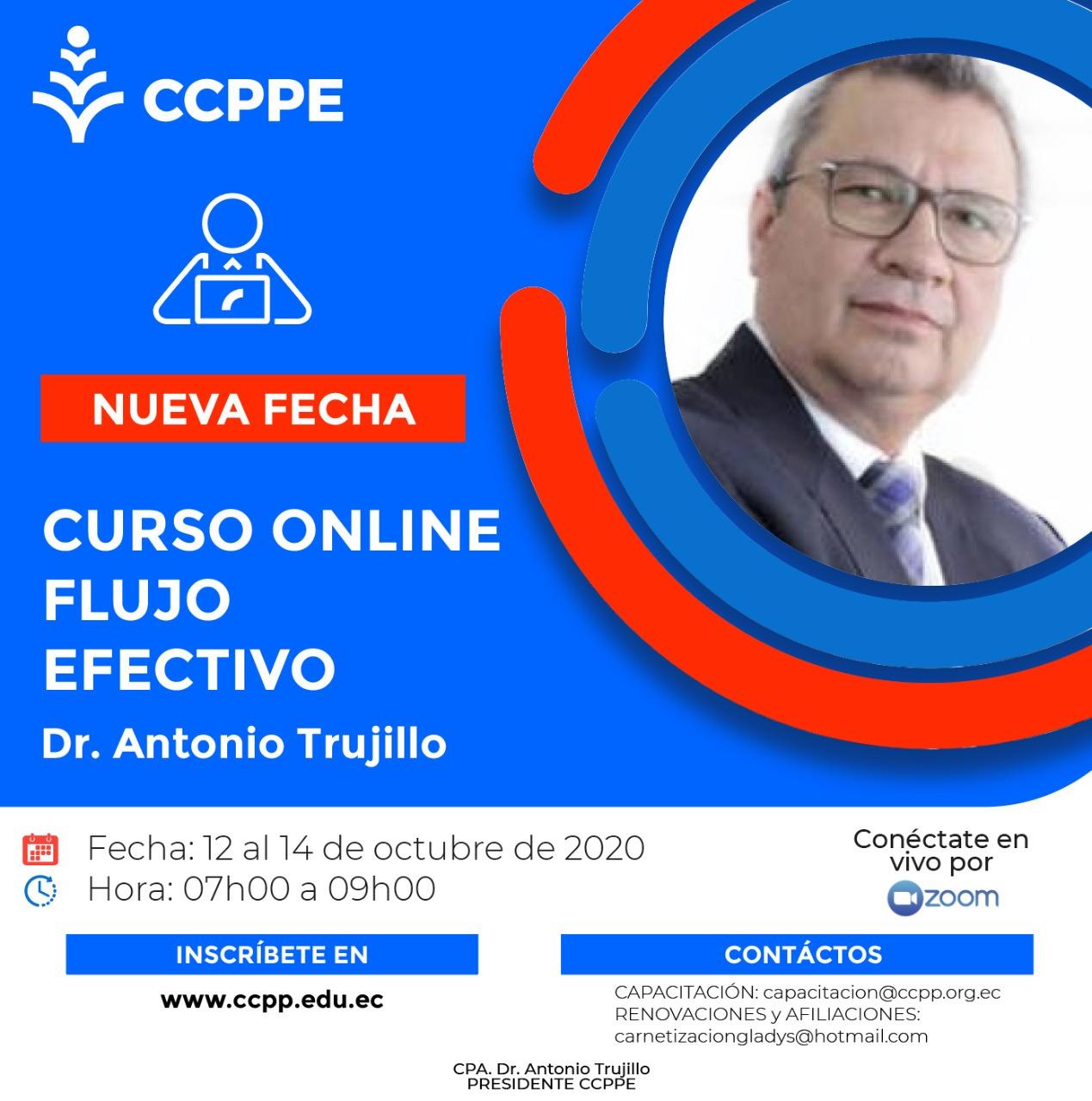 FLUJO DE EFECTIVO - 12 AL 14 OCTUBRE 2020