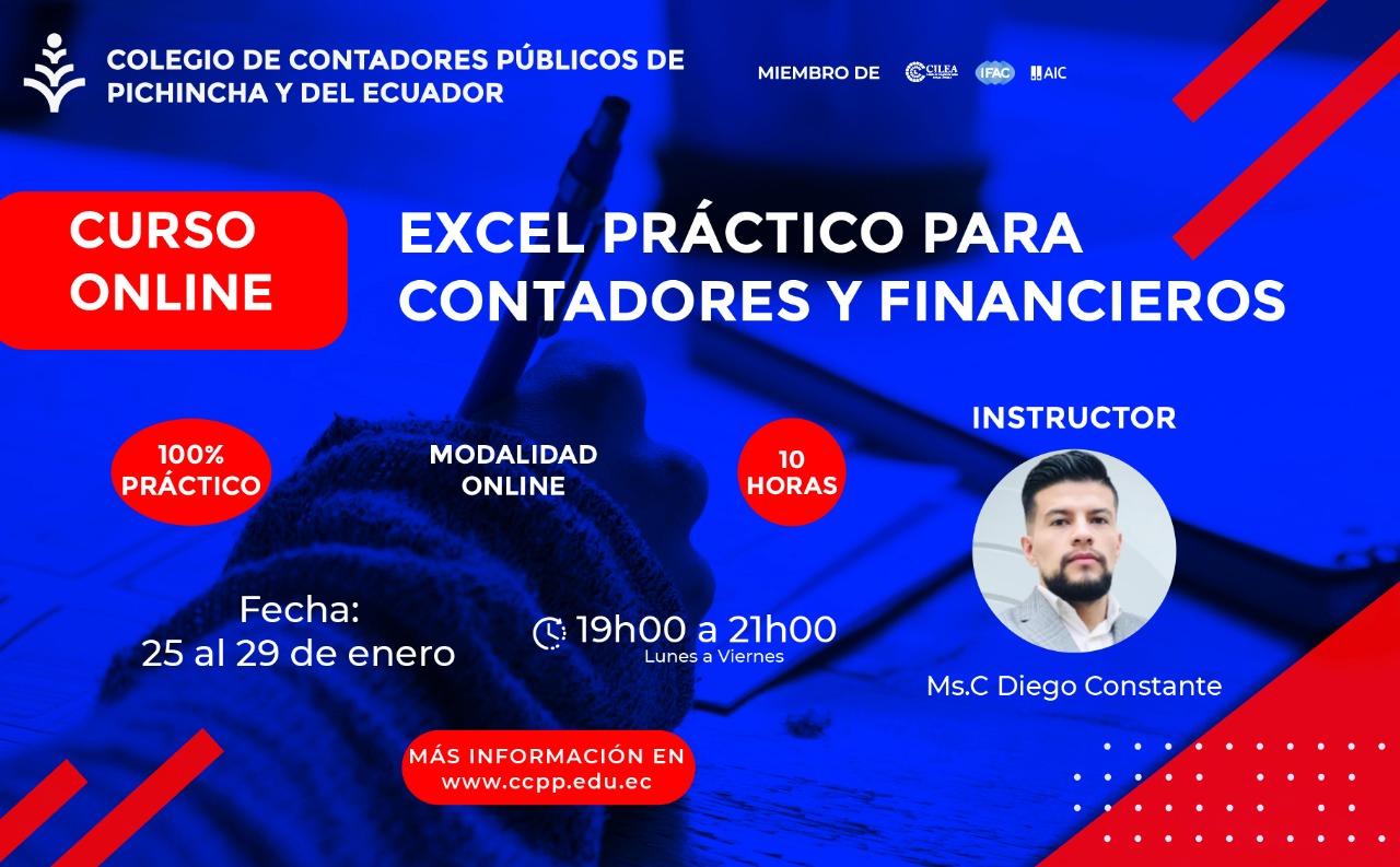EXCEL PARA CONTADORES Y FINANCIEROS - 25 AL 29 ENERO 2021