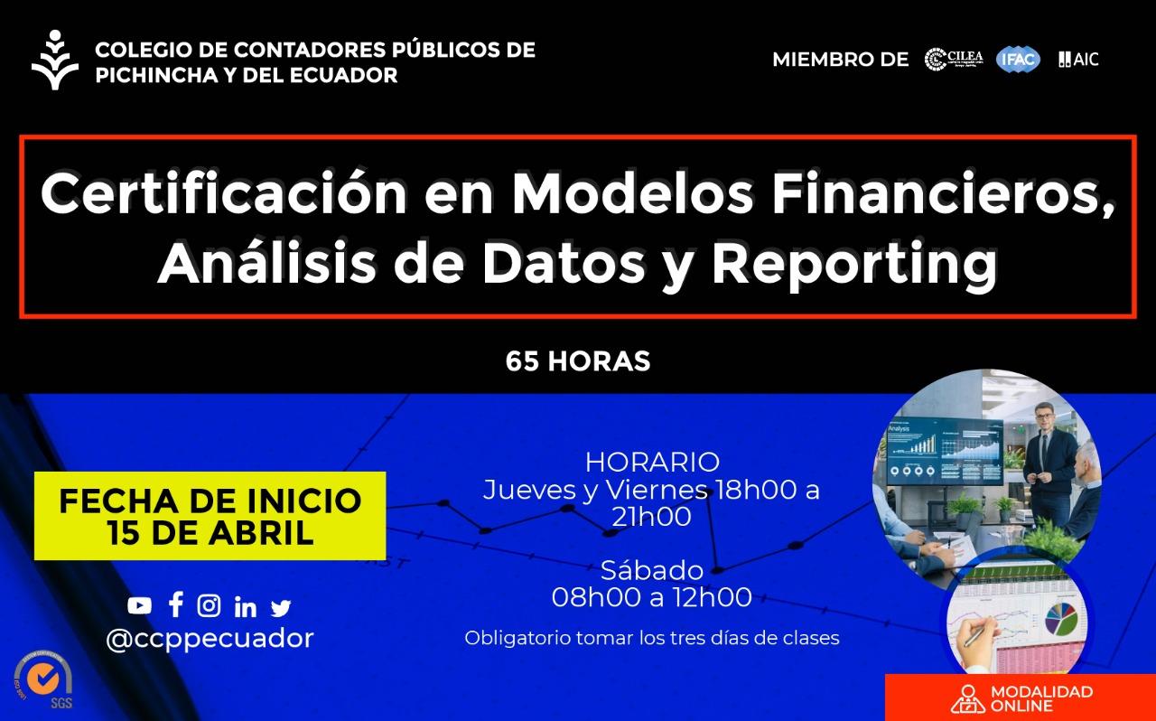 CERTIFICACIÓN MODELOS FINANCIEROS - 15 ABRIL 2021